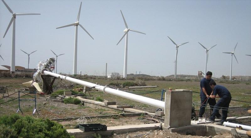 First Wind Turbine designed an