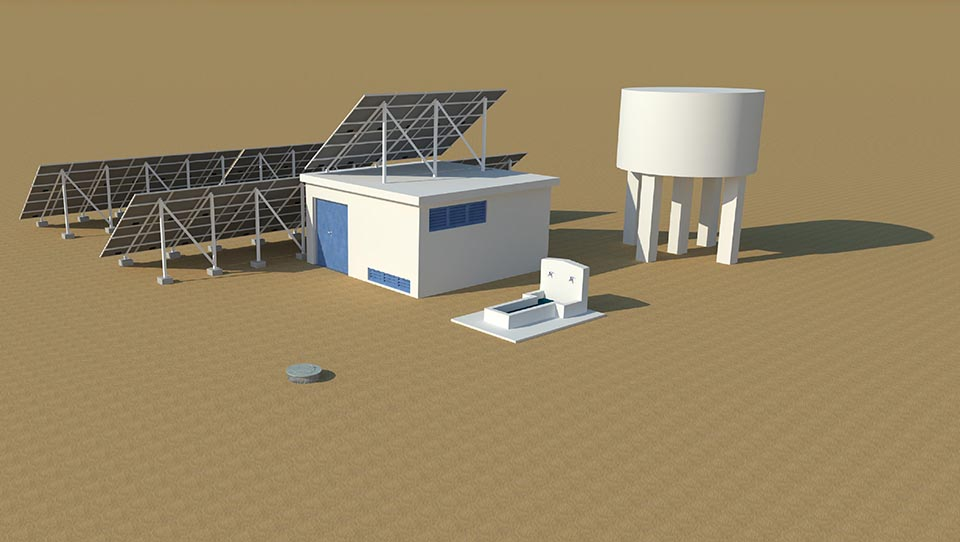 First desalination plants oper