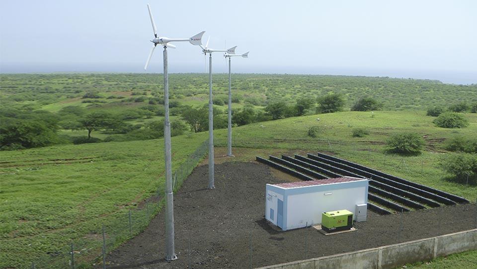 Cape Verde: rural electrificat