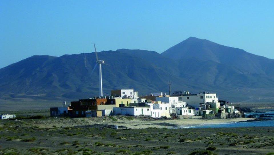 Punta Jandía: First wind-dies