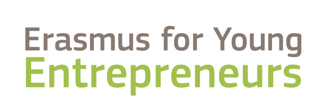 Projecto logo Erasmus for Young Entrepreneurs