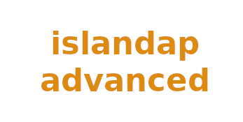 Projecto logo ISLANDAP ADVANCED